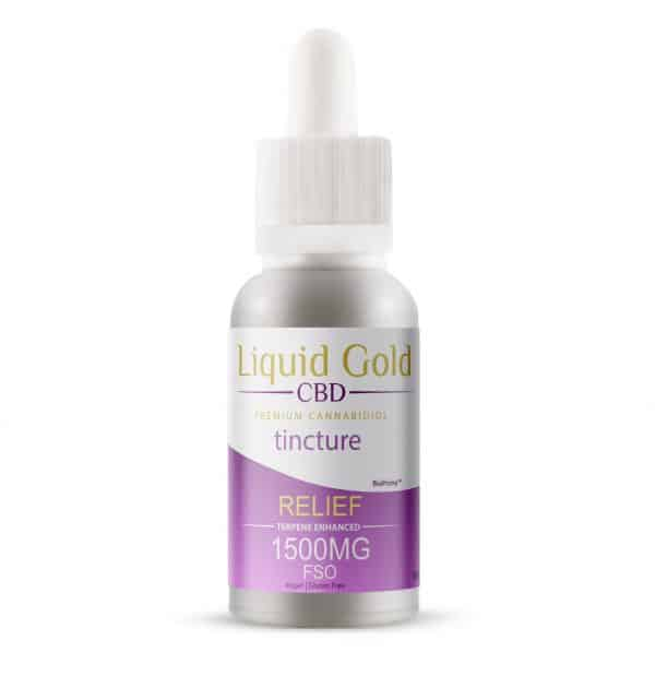 Liquid Gold CBD Full Spectrum Nanoparticle CBD 100x More Bioavailable than competing products